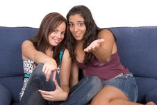 Free Enjoying Teens ! Stock Images - 3241634