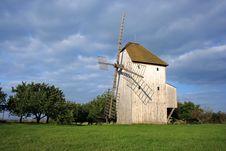 Free German Windmill Stock Image - 3241881