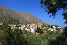 Free Village In Crete Royalty Free Stock Photos - 3242398