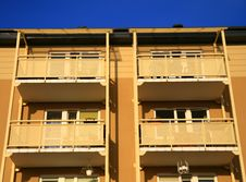 Free Balconies Stock Photo - 3244070