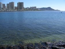 Free Waikiki And Diamond Head Stock Photos - 3244133