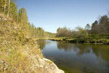 Free The River Serga Stock Images - 3244234