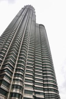 Petronas Building Royalty Free Stock Photo