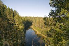 Free The River Serga Stock Image - 3244361