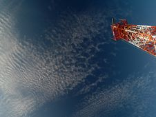 Free Coastal Surveillance Radar Royalty Free Stock Images - 3245179
