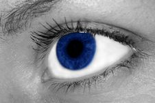 Free Woman Blue Eye Royalty Free Stock Photography - 3245767
