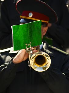 Free Trumpeter Stock Photos - 3245933