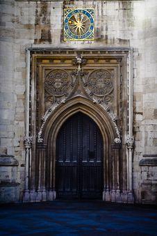Free Historic Gate In Cambridge Stock Photo - 3246610