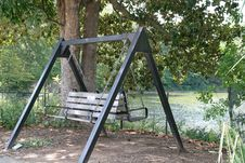 Free Park Swing Royalty Free Stock Image - 3246646