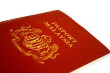 Free Malaysia Passport Stock Photos - 3247583