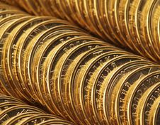Free Coins Royalty Free Stock Image - 3247936
