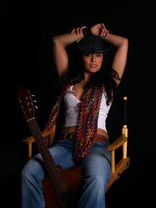Free Beautiful Rock Chick Stock Photos - 3248353