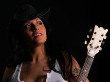 Free Beautiful Rock Chick Stock Photo - 3248370