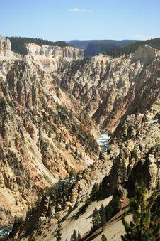 Free Grand Canyon At Yellowstone Stock Photo - 3248400