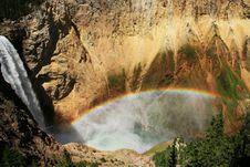 Free Rainbow At Yellow Stone Stock Image - 3248411