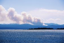 Free Wildfire In Yellowstone Royalty Free Stock Images - 3248539