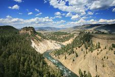 Free Black Canyon In Yellowstone Royalty Free Stock Photo - 3248565