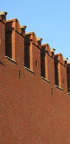 Free Kremlin Wall Stock Photo - 3249010