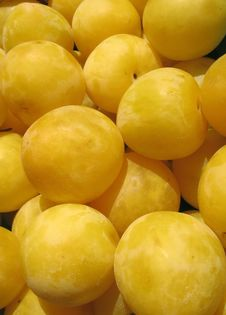 Free Yellow Plums Stock Image - 3249131