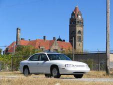 Free White Car Royalty Free Stock Photo - 3249135