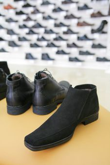 Free Man S Boots On Sale Royalty Free Stock Photos - 3249358