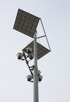Free Street Lamp And Light Diffuser Stock Photo - 3249650