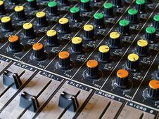 Free Sound Mixer Royalty Free Stock Image - 3249786