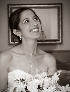 Free Sepia Bride Royalty Free Stock Photo - 3249945
