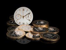 Free Time Money Royalty Free Stock Photo - 32406605
