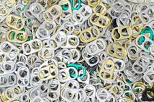 Free Plenty Of Ring-pulls Royalty Free Stock Image - 32409386