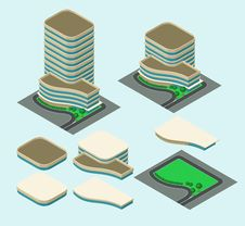 Free Isometric Building Stock Photography - 32409502