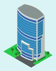 Free Isometric Building Stock Images - 32409514