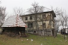 Free 19st Balkan Wood House Stock Photography - 32409692
