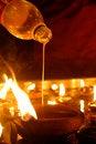 Free Hindu Festival Oil Lamp Stock Photo - 32415200