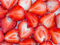 Free Sliced Strawberries Stock Images - 32415304