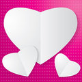 Free Paper Heart Stock Images - 32418814