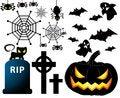 Free Set Of Halloween Stock Photo - 32423490