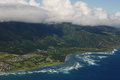 Free Aerial View Of Hawaii Coast Royalty Free Stock Photography - 32451587