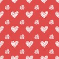 Free Seamless Pattern With Hearts. Valentines Day Royalty Free Stock Photography - 32459067