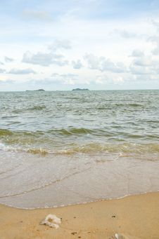 Free Wave On The Beach Stock Photography - 32451572