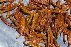 Free Dry Red Pepper Royalty Free Stock Photos - 32454228