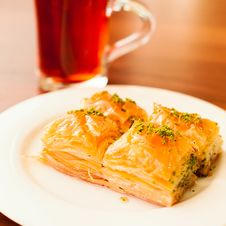 Oriental Sweets Baklava Royalty Free Stock Photos