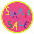 Free Summer Sale Template,  Summer Fashion Sale,  Summe Royalty Free Stock Images - 32461229