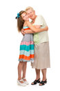 Free Grandmother With Her Granddaughter Royalty Free Stock Photography - 32469137