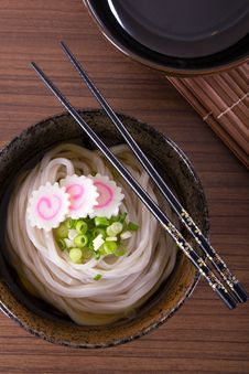 Free Japanese Udon Noodles Royalty Free Stock Photos - 32461718