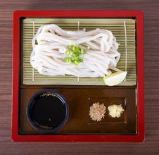 Free Japanese Udon Noodles Royalty Free Stock Photo - 32462175
