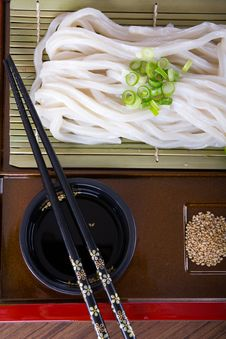 Free Japanese Udon Noodles Royalty Free Stock Images - 32462279