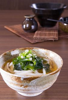 Free Japanese Udon Noodles Stock Photo - 32462290