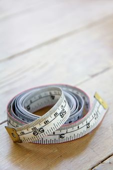 Close Up Of Tape Measure Stock Images