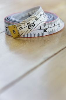 Close Up Of Tape Measure Royalty Free Stock Photography